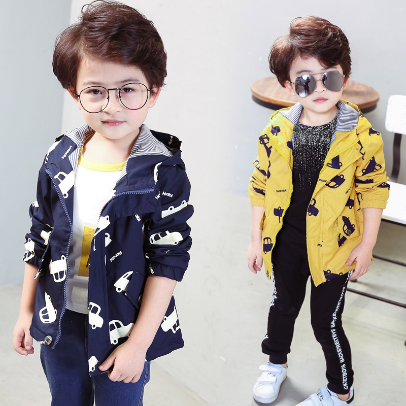 New-Spring-Jacket-Boys-Girls-Kids-Outerwear-Cute-Car-Windbreaker-Coats-Print-Canvas-Baby-Children-Clothing-4