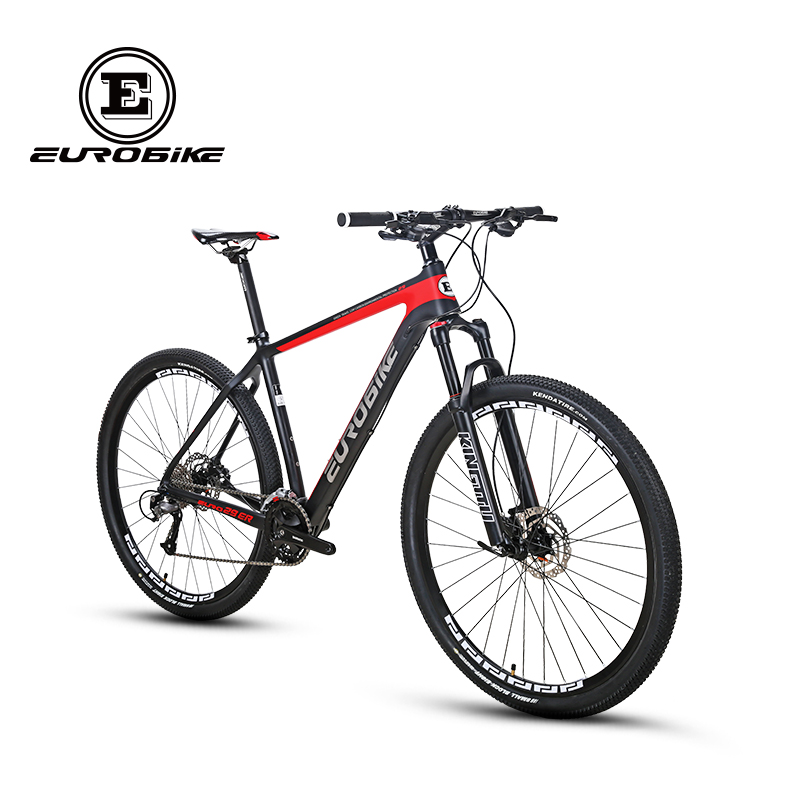 EUROBIKE Mountain Bike EURO29ER Toray 700 Carbon Fiber Frame 27 Speed 29 inches Wheels Dual Disc Mountain Bike