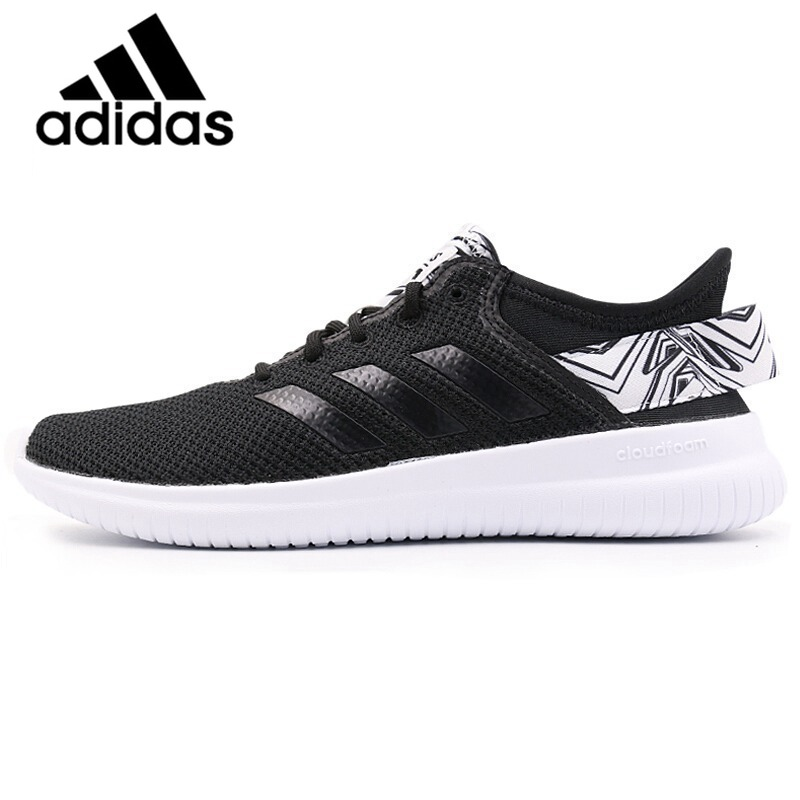 Official Original Adidas NEO Label QTFLEX Thread Women's Skateboarding Shoes Sneakers Breathable Adidas Women Shoes Comfortable шорты спортивные lc waikiki lc waikiki mp002xm23vsk