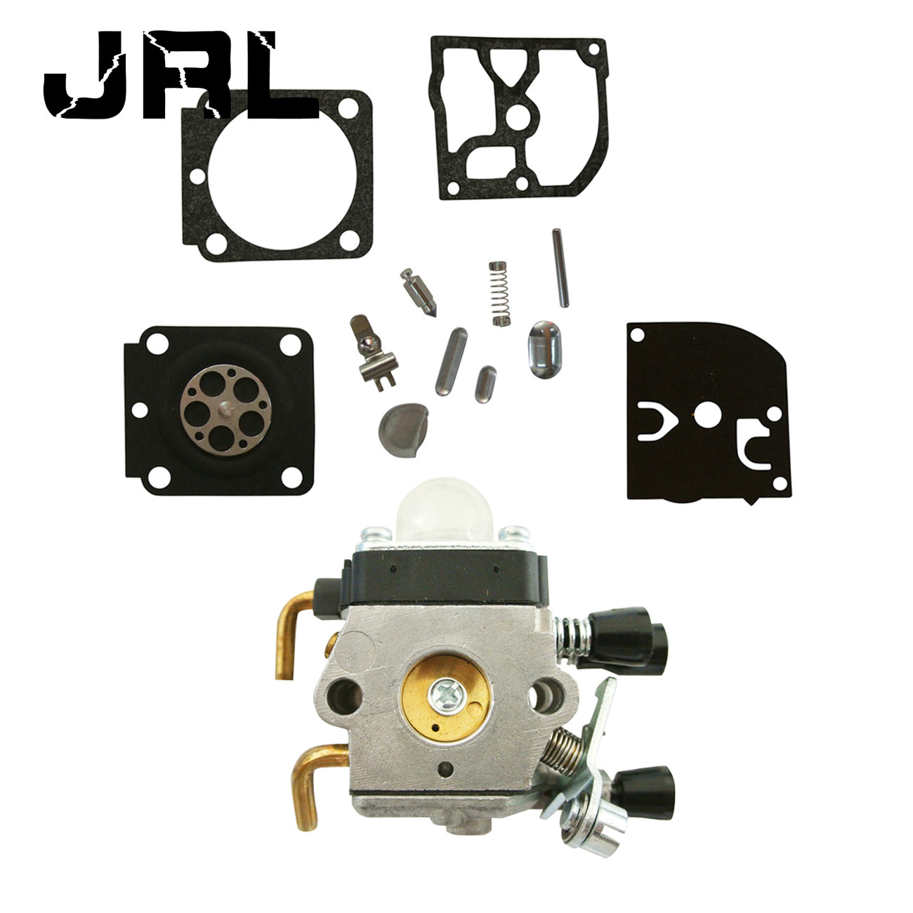 Carb <font><b>Carburetor</b></font> & Diaphram Repair Kit <font><b>For</b></font> <font><b>Stihl</b></font> <font><b>FS38</b></font> <font><b>FS45</b></font> FS46 ZAMA C1Q S143 image