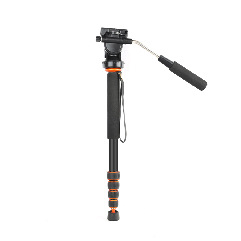 Q238 Professional flexible Aluminum Alloy Camera tripod Monopod Lightweight 68(173cm) Monopod for Digital Video DSLR DV Camera aluminium alloy professional camera tripod flexible dslr video monopod for photography with head suitable for 65mm bowl size