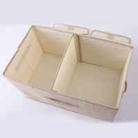 Foldable Washable Wardrobe Storage Bag With Compartments Household Portable Saving Space Vertical Clothes Organiser Shoes #0314