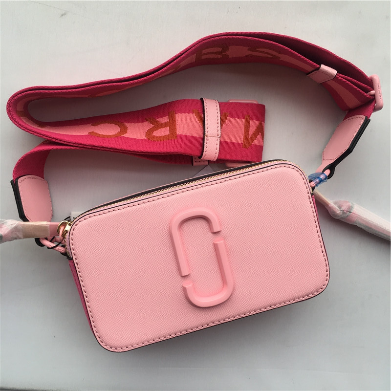 2019 new camera bag wide shoulder strap color dot small square bag leather ladies handbag double zipper shoulder bag girls walle2019 new camera bag wide shoulder strap color dot small square bag leather ladies handbag double zipper shoulder bag girls walle
