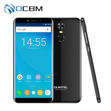 Oukitel C8 5.5″HD 18:9 Infinity Display Android 7.0 2GB RAM 16GB ROM MTK6580A Quad Core Fingerprint 13MP 3000mAh Mobile Phone