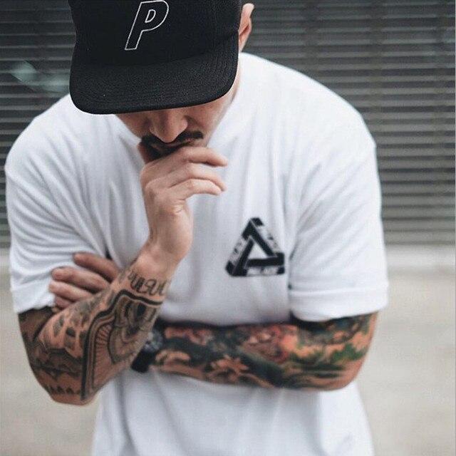 2016 New Arrival  palace T shirt Homme 2016 Harajuku Trasher tee shirt Men Women  gosha Palace Skateboard T shirt