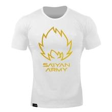 Dragon Ball Z Goku Cotton T-shirt Men Short sleeve O-Neck Tshirt Summer Saiyan Vegeta Harajuku Brand Clothing O-neck T shirt