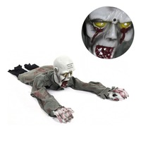 Halloween Haunted House Supply Party Bar KTV Decorative Props Electric Horror Climbing Ghost Crawling Room Escape Props