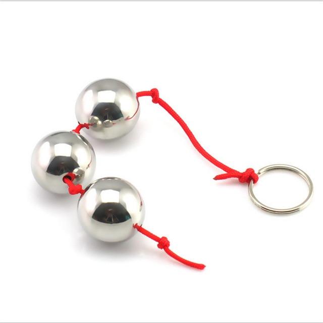 Najwyższej jakości stal nierdzewna Anal dilatation g-point stymulować metalowe kulki analne wtyczka analna butt plug Anal sex zabawki dla pary