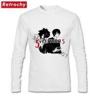 Tee Persona 5 Couple Thiết Kế Thời Trang T Shirt Man Dài Tay Áo Giá Rẻ Giá Mang Nhãn Hiệu Top Trang Phục