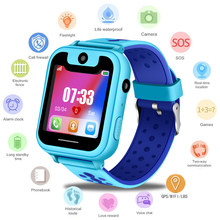 BANGWEI2018 new children's smart watch GPS remote positioning SOS emergency mobile phone reminder voice chat support SIM camera(China)