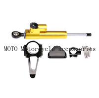 Aluminum CNC Motorcycle Steering Damper Complete Set For Honda CBR600 F4I 2001 2002 2007 Motorcycle Bracket