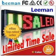 Leeman Sinosky P10 открытый из светодиодов движущихся дисплей сообщение знак / из светодиодов работает сообщение один цвет из светодиодов программируемый знак табло