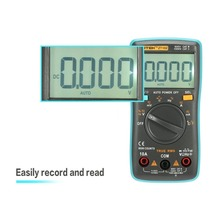 ZT102 Digital Multimeter Multimetro  esr Transistor Tester Digital RM Mastech uni multi Meter 102/101 t Meter Sanwa Multimetre