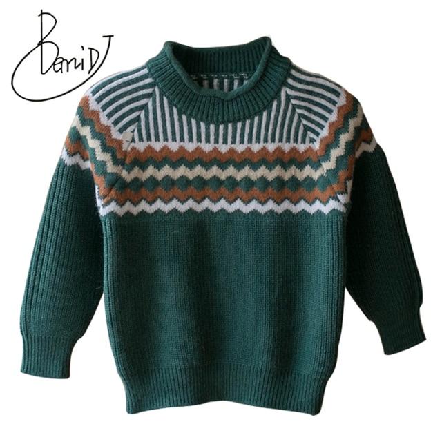 d2596e7cf27d Baby Boys Girls Sweater Children Clothes 2018 Autumn Winter Girl ...