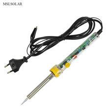 MSL 220 V 60 Watt Einstellbare Temperatur Elektrische Lötkolben Schweißen Solder Station Heat Bleistift Mit Eu-stecker
