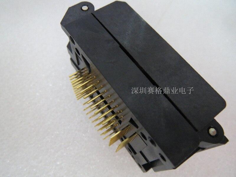 escala convés qfp64 tratfp64 yamaichi, espessura de 1.6-3.2mm