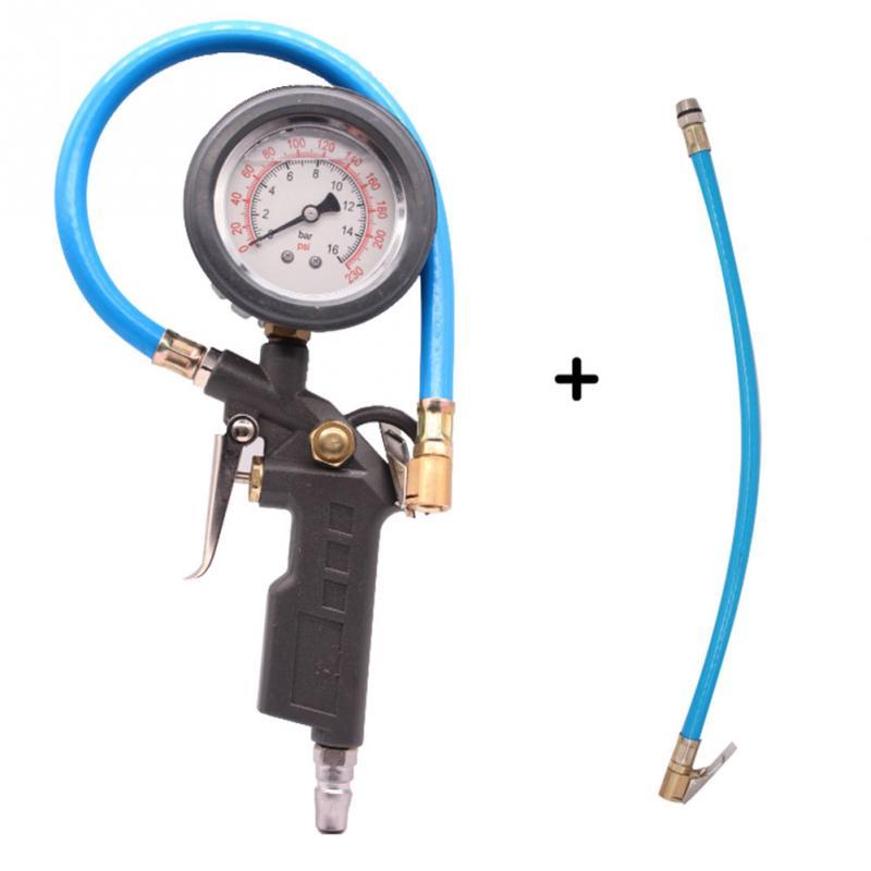 Car Auto Digital Tire Pressure Gauge Meter Tire Air Inflator Tool 220PSI 14