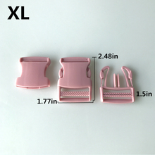 2pcs Pack 1 Plastic Side Release Buckles Dual Adjustable Slimwaist Molle Dog Straps Webbing Outdoor paracord buckle EDC tool