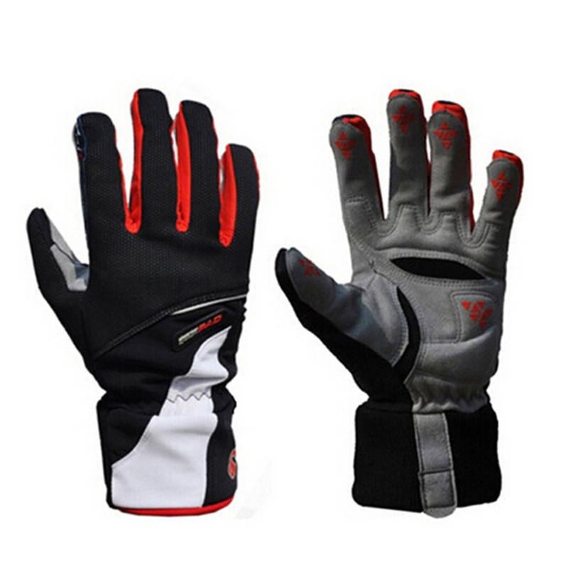 LumiParty Windproof Sports Skiing Touch Screen Glove Cycling Bicycle Gloves Mountaineering Military Motorcycle Racing Gloves