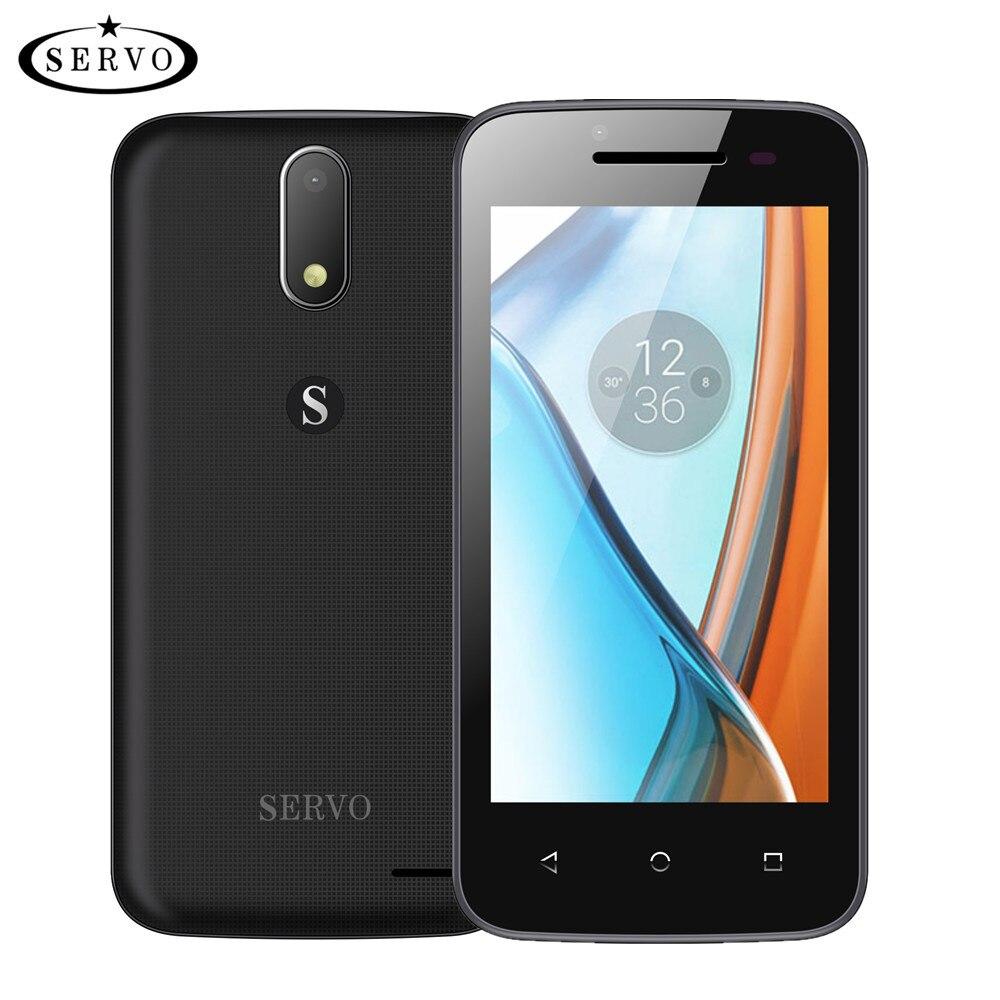 Цена за Оригинал servo h1 4.5 дюймов мобильный телефон android 6.0 spreadtrum7731c quad core dual sim смартфон 5.0mp gsm wcdma сотовые телефоны