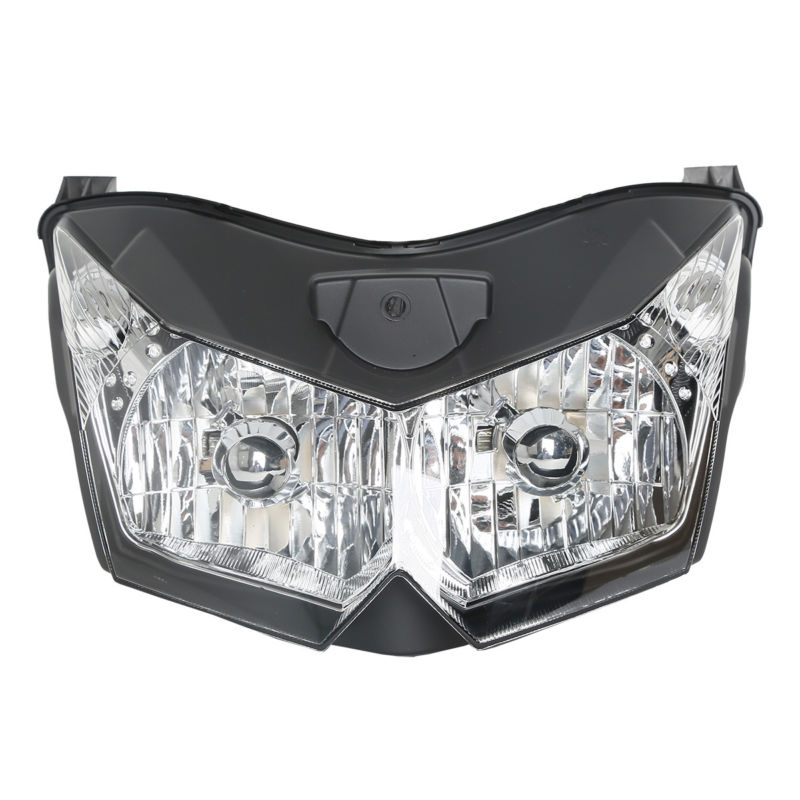 цена на Clear Headlight Assembly House Fit For Kawasaki Z1000 ZRT00B Z750 ZR750L 2007-2010 2008 2009