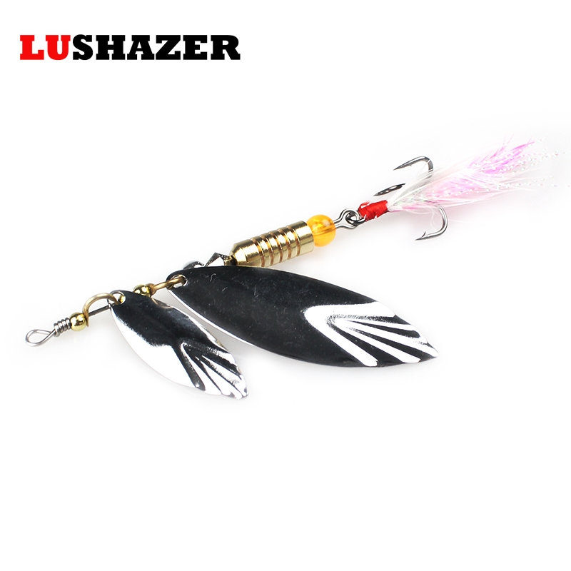 3pcs lot lushazer fishing catfish lures bass lures 7g 10g for Spoon fishing for bass
