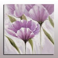 Handmade decorative modern simple abstract flower oil painting wall hanging art for living room canvas wall art oil paint