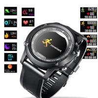 Smartband Heart Rate Monitor Blood Pressure Fitness Tracker Smart activity tracker Bracelet Waterproof Sport Smart Watch For Men