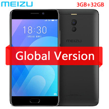 Original Meizu M6 Note 6  3GB 32B 4G network Snapdragon 625 Octa Core 5.5 inch Cell Phone fingerprint GPS WIFI (China)