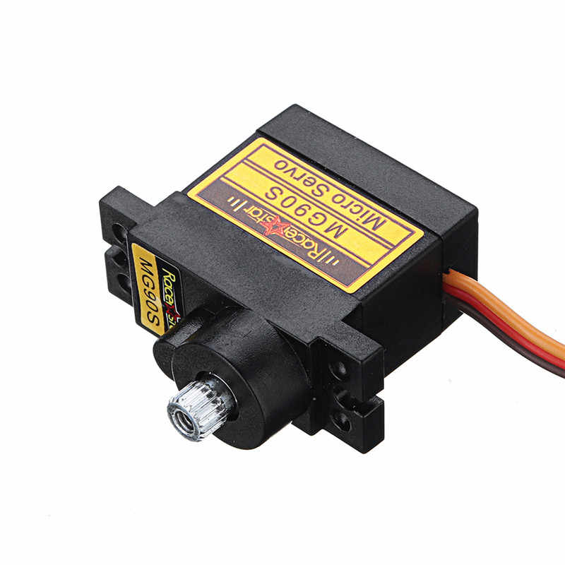 2 / 4 /6 Pcs Racerstar MG90S 9G Micro Metal Gear Analoge Servo Voor 450 Rc Helicopter Rc auto Boot Robot Rc Afstandsbediening Speelgoed