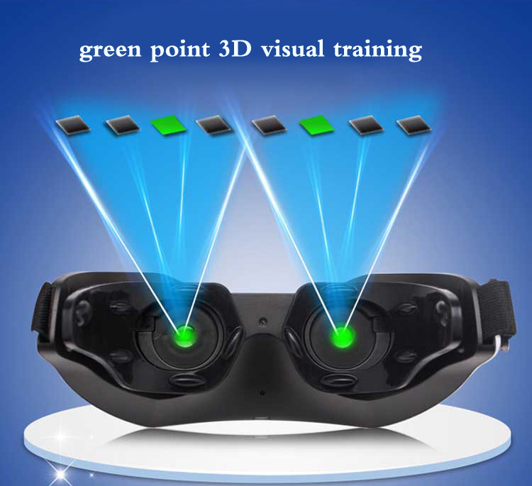 GenerationIII rechargeable 3D visual relaxing equipment treatment of myopia instrument acupuncture eye massager with music блуза adzhedo adzhedo ad016ewwut29