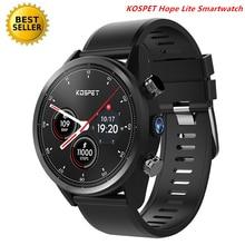 KOSPET надеюсь Lite 4G Смарт часы Android7.1.1 Wi-Fi Bluetooth HD Камера Smartwatch Водонепроницаемый gps сим Смарт часы Для мужчин Saatler L5