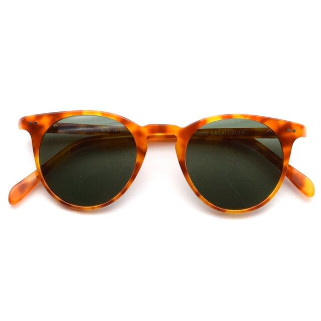 0b0fdd694b Retro pequeño ronda polarizada gafas de sol para hombres y mujeres vintage  conducción al aire libre