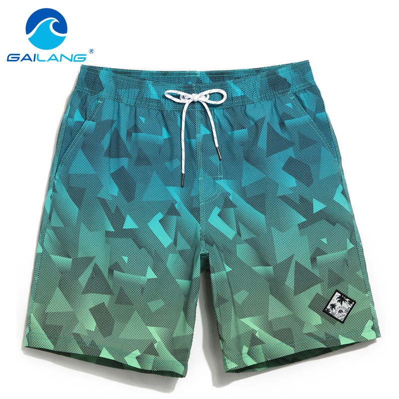 Gailang Brand Men's Beach Board Shorts Bermuda Mens Swimwear Swimsuits Boardshorts Quick Dry Workout Cargo Boxer Trunks Shorts