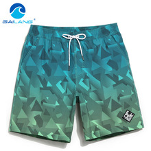 Gailang Brand Men s Beach Board Shorts Bermuda Mens Swimwear Swimsuits Boardshorts Quick Dry Workout Cargo