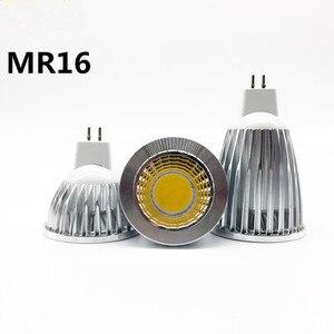 Image 2 - Yeni yüksek güç LED lamba MR16 GU5.3 şok 9W 12W 15W kısılabilir darbe projektör sıcak soğuk beyaz MR 16 12V lamba GU 5.3 220V