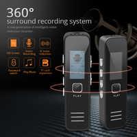 TISHRIC 16GB Digital Voice/Sound/Audio Recorder Usb Dictaphone Pen Professional 20HR 10M MP3 WMA U Flash Drive HD Screen Display