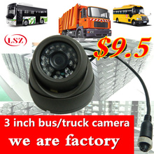 3 inch Korean gray camera metal shock proof car probe truck camera sony600tvl/ahd720p/960p/1080p built-in acoustic probe