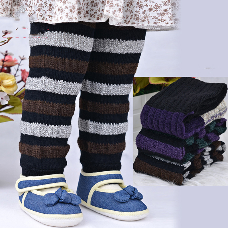 0-2y Kammgarn Kinder Legging Baby Warmkeeping Legging Stip Baby Strumpfhosen Baby Jungen Und Mädchen Legging Große Pp Baby Legging 3