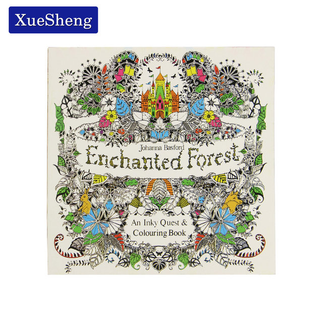 Tienda Online 24 páginas Enchanted Forest edición en inglés libro ...