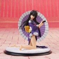 Anime amor juventude Figura de Ação história Linda Menina quimono Roxo Adulto figura Coleção Modelo de brinquedo Decoração Boneca de Presente de Natal