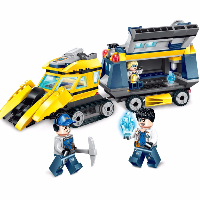 Model Building Amicable Enlighten City Engineering Spar Team Pathfinder Tractor Mining Experts Building Blocks Kit Sets Kids Toys Compatible Legoings Cleaning The Oral Cavity. Toys & Hobbies