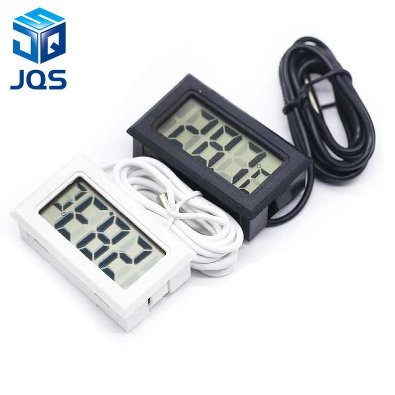 Mini Digital LCD Probe Fridge Freezer Thermometer Sensor Thermometer Thermograph For Aquarium Refrigerator Kit