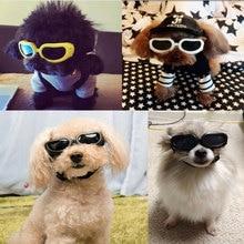 07e3fbbc72 Ajustable perro de mascota pequeña mascota gato moda gafas a prueba de viento  impermeable de protección ocular gafas de sol UV