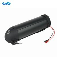 US EU AU No Tax Black Water Bottle Electric Bike Battery 36V 14 5AH Li Ion