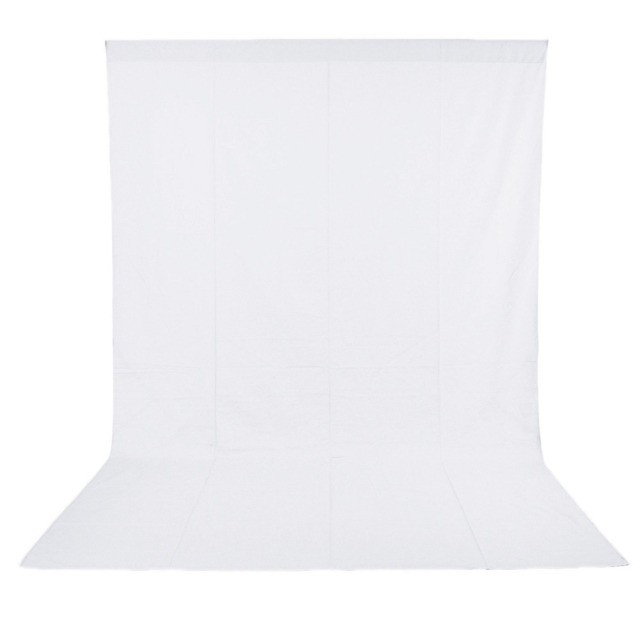 Neewer 1.8 x 2.8M Professional Photo Lighting Studio Chromakey White Screen Muslin Background Backdrop Cotton
