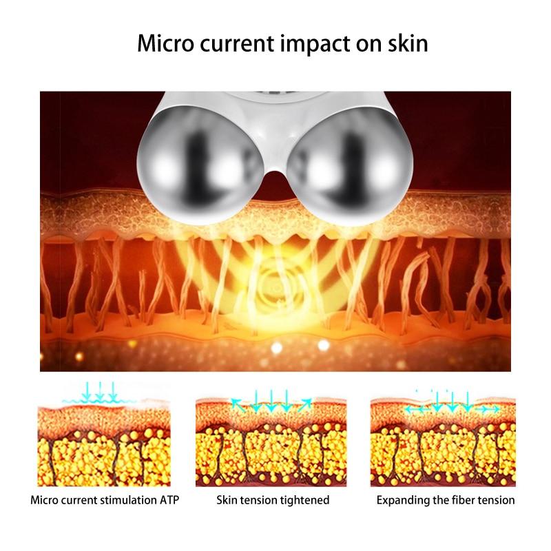 Mini mikročistog aparata za podizanje lica Komplet za spašavanje - Alat za njegu kože - Foto 4