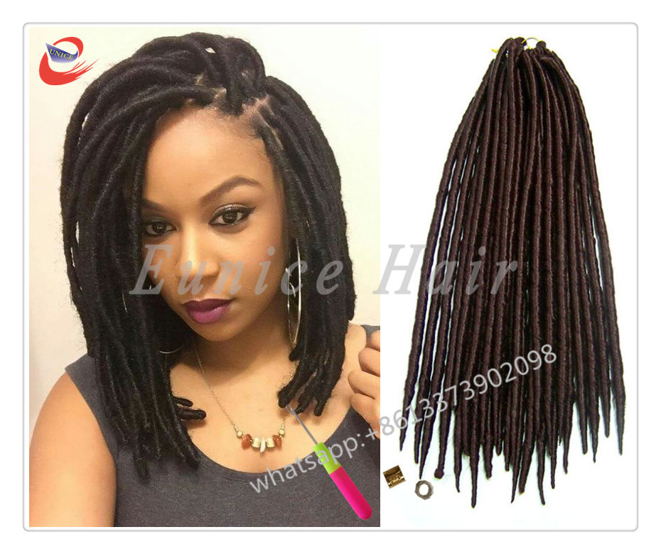 Colored Synthetic Braiding Hair Twist Braid Extension Crochet Easy