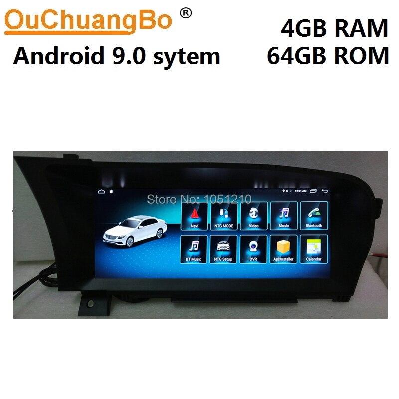 Ouchuangbo lecteur multimédia gps radio pour Mercedes Benz S 250 300 350 400 500 600 W221 avec 10.25 pouces Android 9.0 système 4 GO + 64 GO