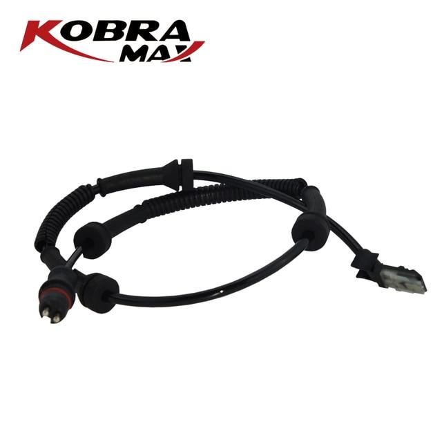 KobraMax Front ABS Brake Sensor 8200583498 For Opel / Vauxhall Vivaro Renault Trafic II 1.9 2.0 2.5 2001 2009